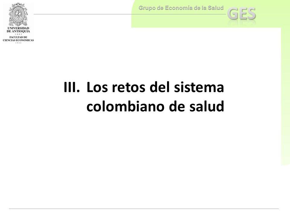 Los retos del sistema colombiano de salud