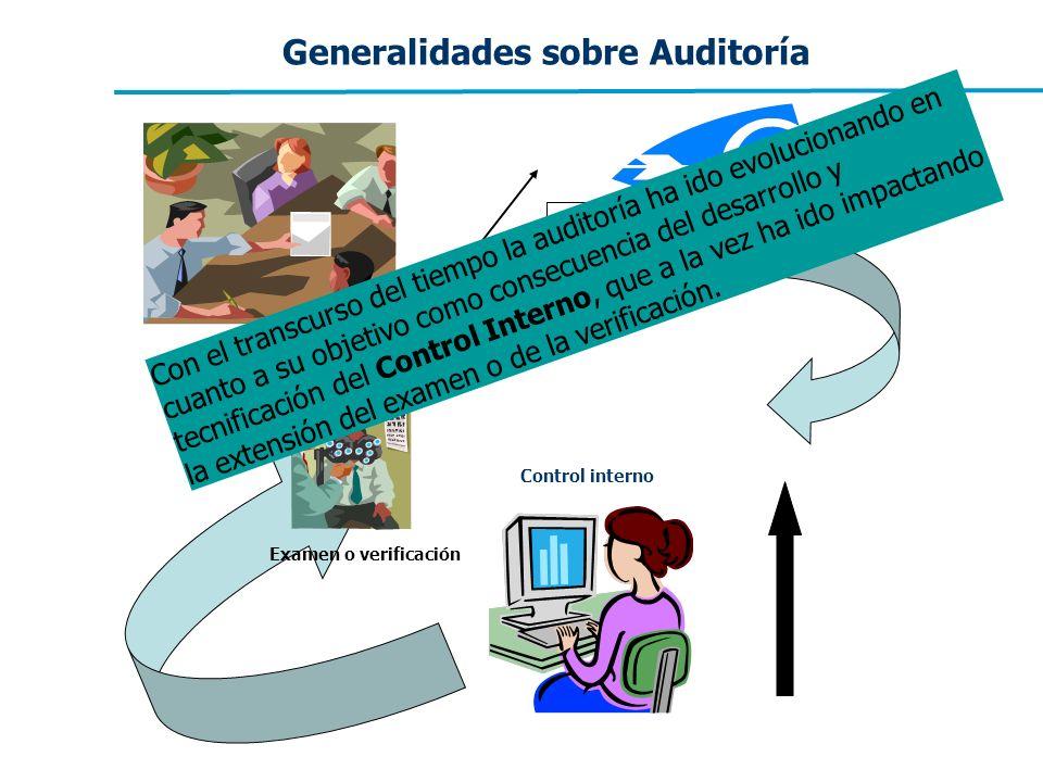 Generalidades sobre Auditoría
