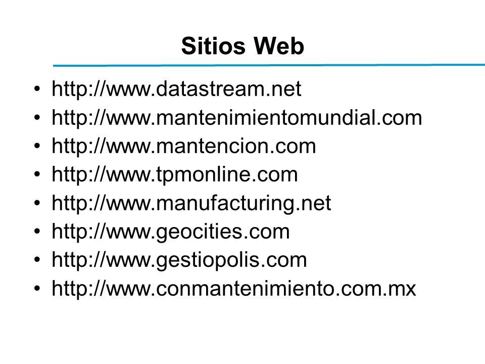 Sitios Web http://www.datastream.net