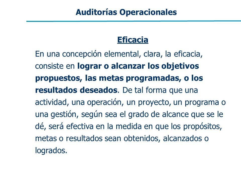 Auditorías Operacionales