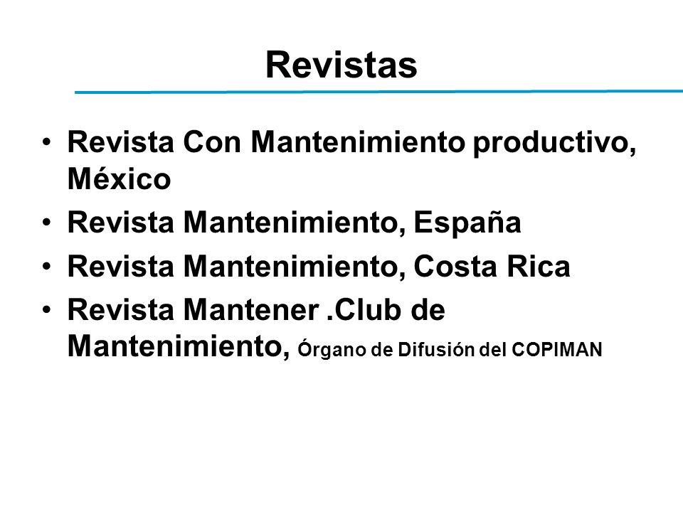 Revistas Revista Con Mantenimiento productivo, México