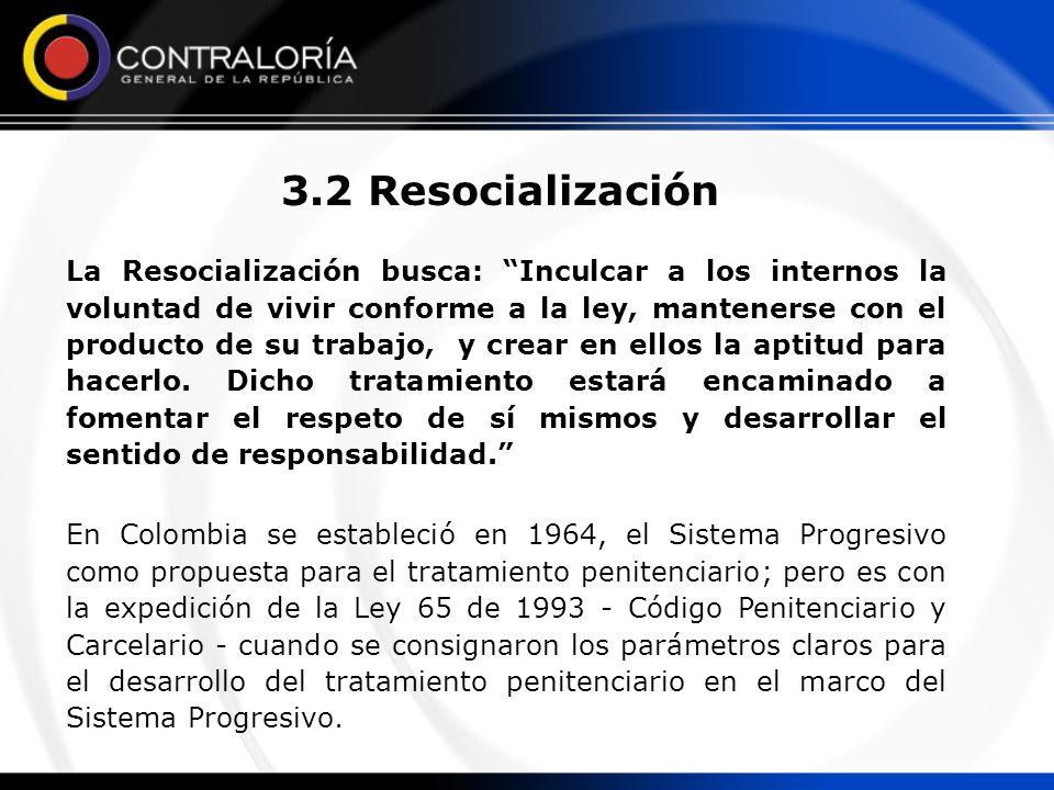 3.2 Resocialización