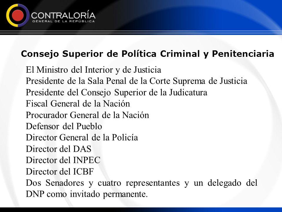 Consejo Superior de Política Criminal y Penitenciaria
