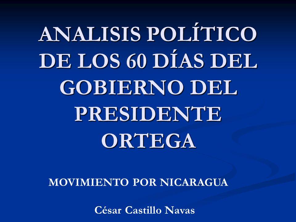 ANALISIS POLÍTICO DE LOS 60 DÍAS DEL GOBIERNO DEL PRESIDENTE ORTEGA