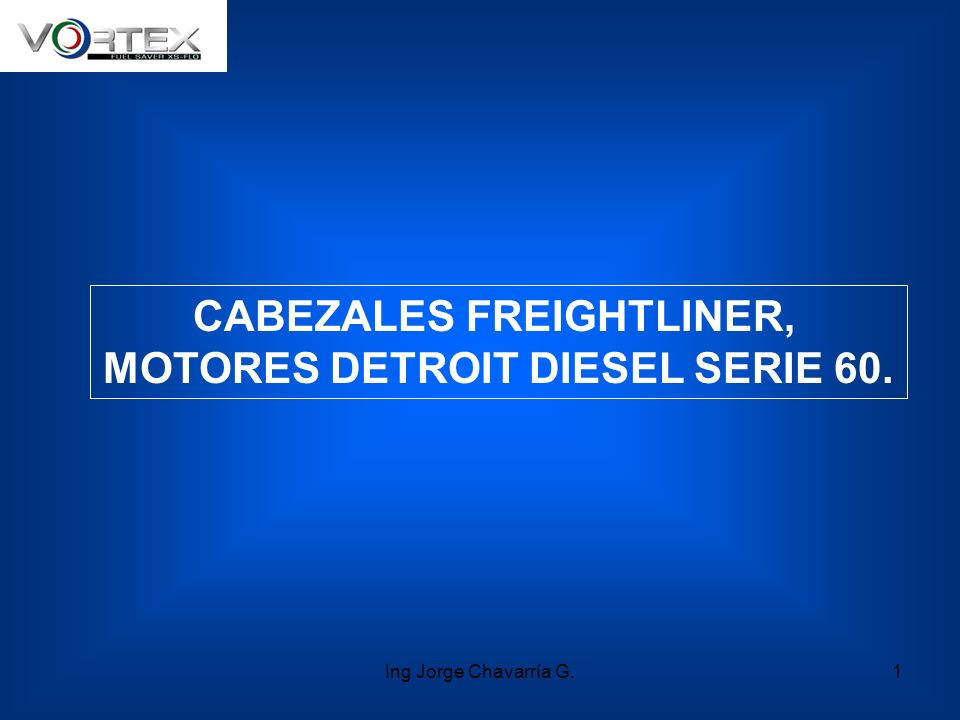 CABEZALES FREIGHTLINER, MOTORES DETROIT DIESEL SERIE 60.