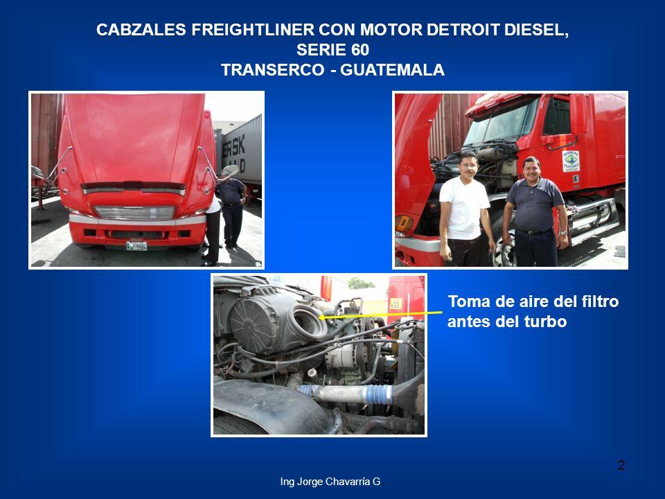 CABZALES FREIGHTLINER CON MOTOR DETROIT DIESEL, SERIE 60