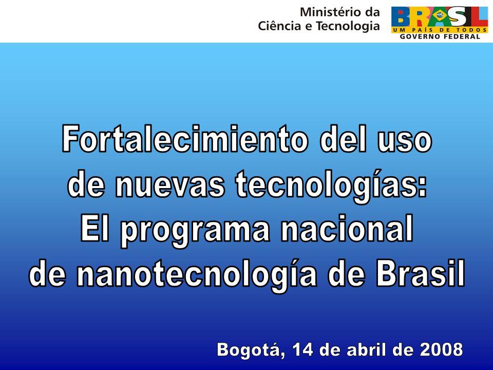Fortalecimiento del uso de nuevas tecnologías: El programa nacional