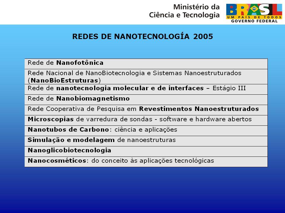 REDES DE NANOTECNOLOGÍA 2005