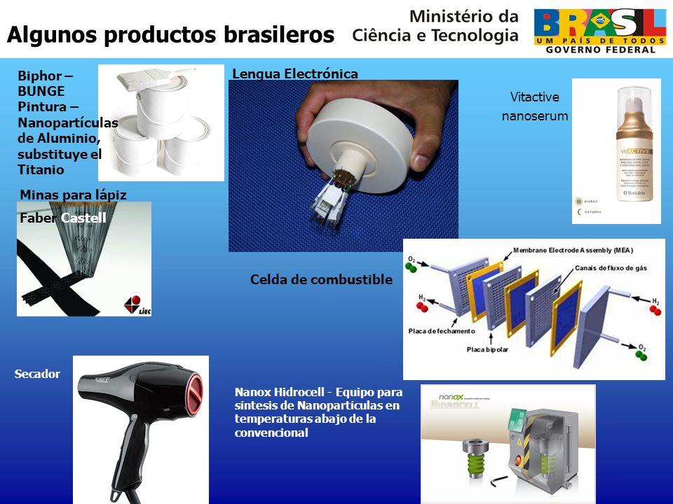 Algunos productos brasileros