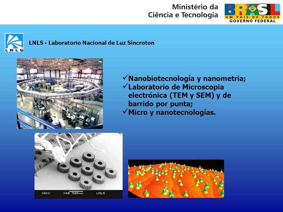 Nanobiotecnología y nanometria;