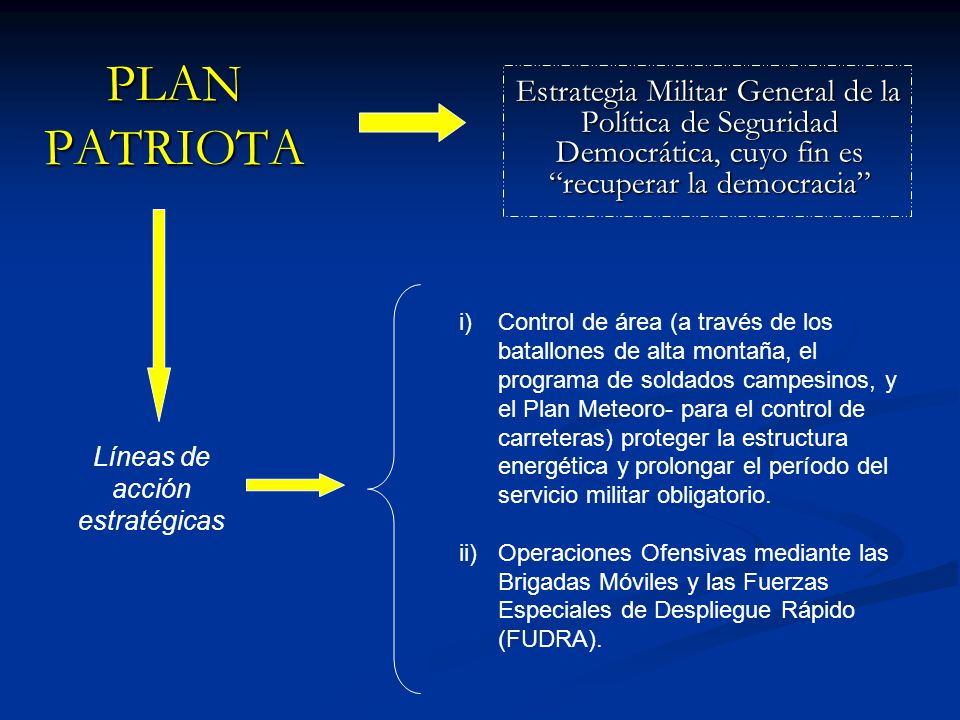 Líneas de acción estratégicas