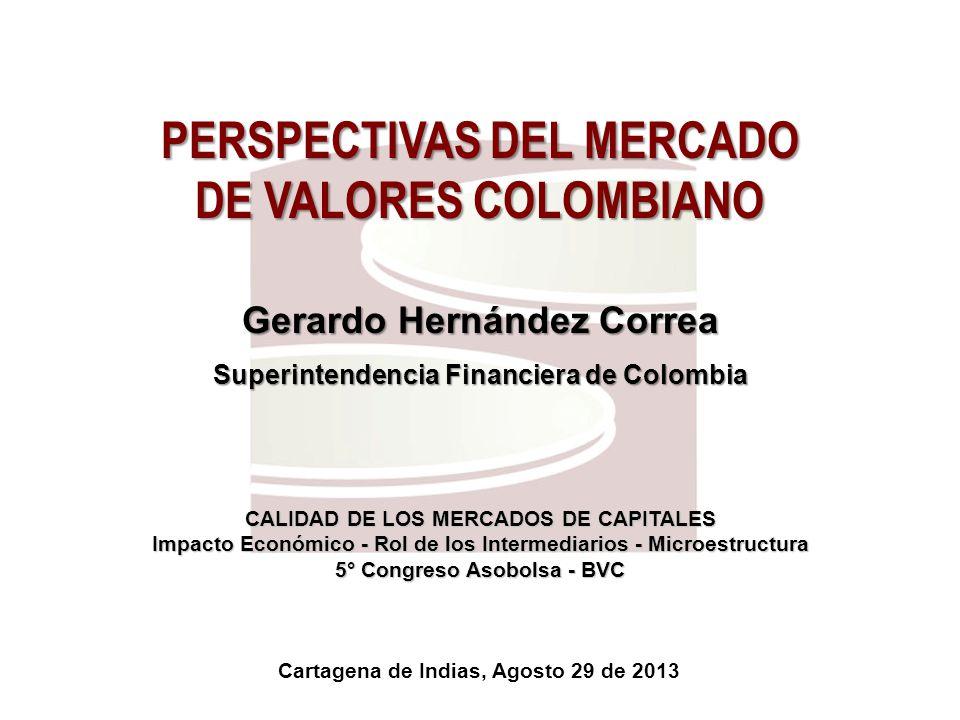 PERSPECTIVAS DEL MERCADO DE VALORES COLOMBIANO