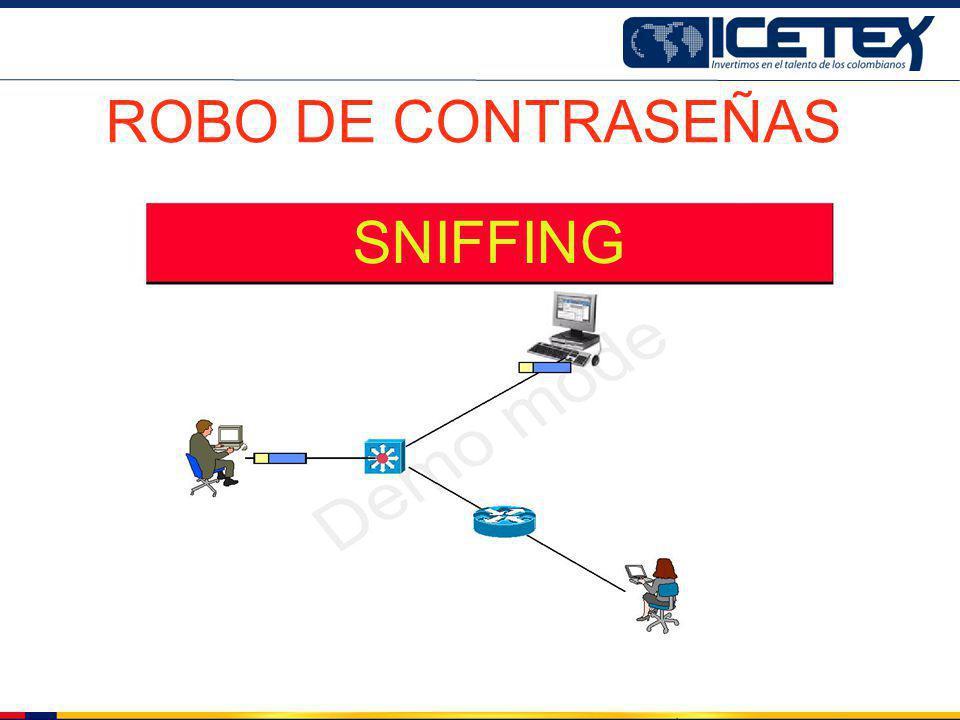 ROBO DE CONTRASEÑAS SNIFFING