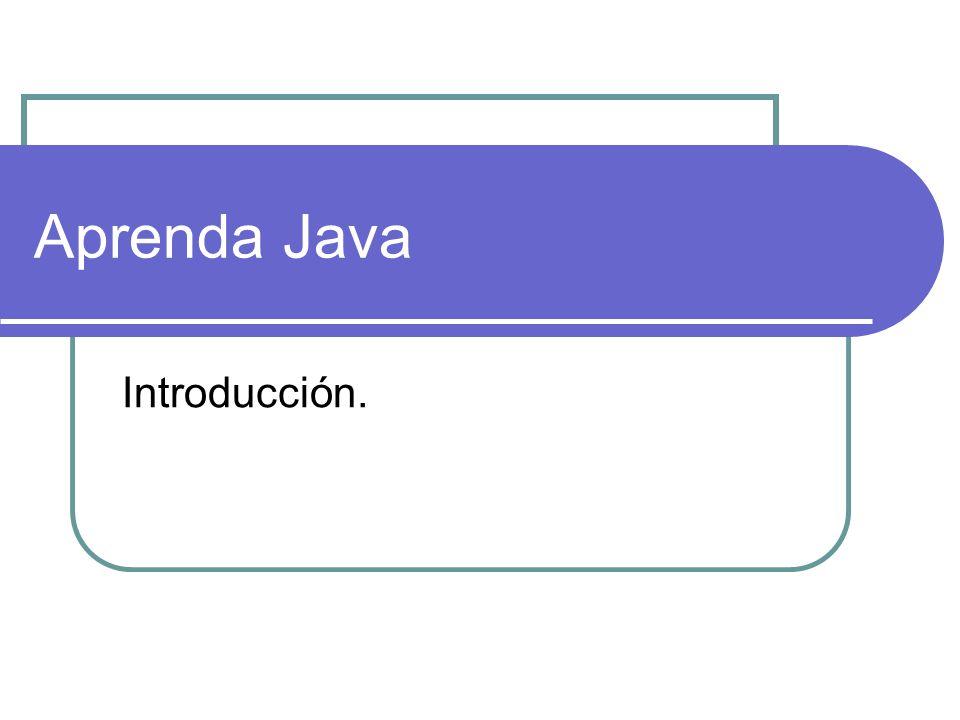 Aprenda Java Introducción. Existen 3 tipos de programación:
