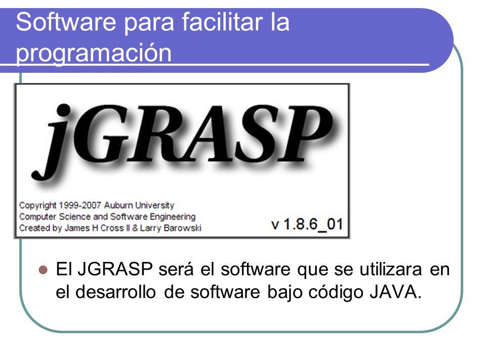 Software para facilitar la programación