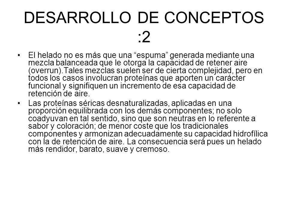 DESARROLLO DE CONCEPTOS :2
