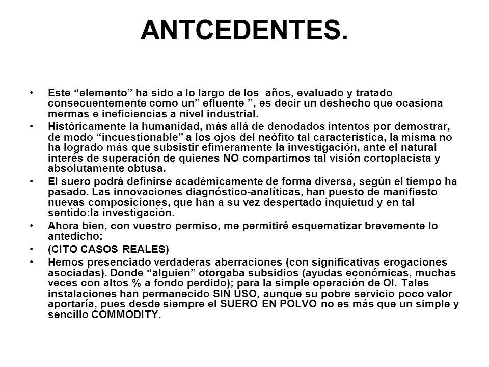 ANTCEDENTES.