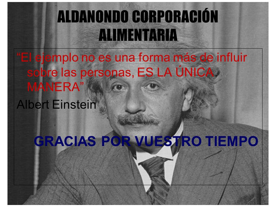 ALDANONDO CORPORACIÓN ALIMENTARIA