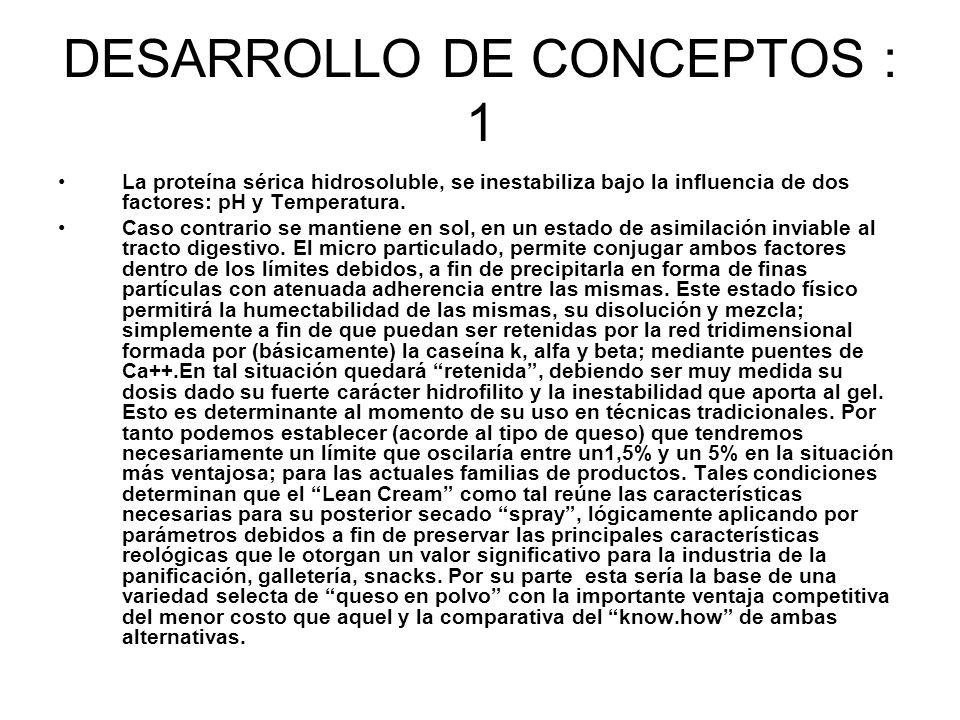 DESARROLLO DE CONCEPTOS : 1