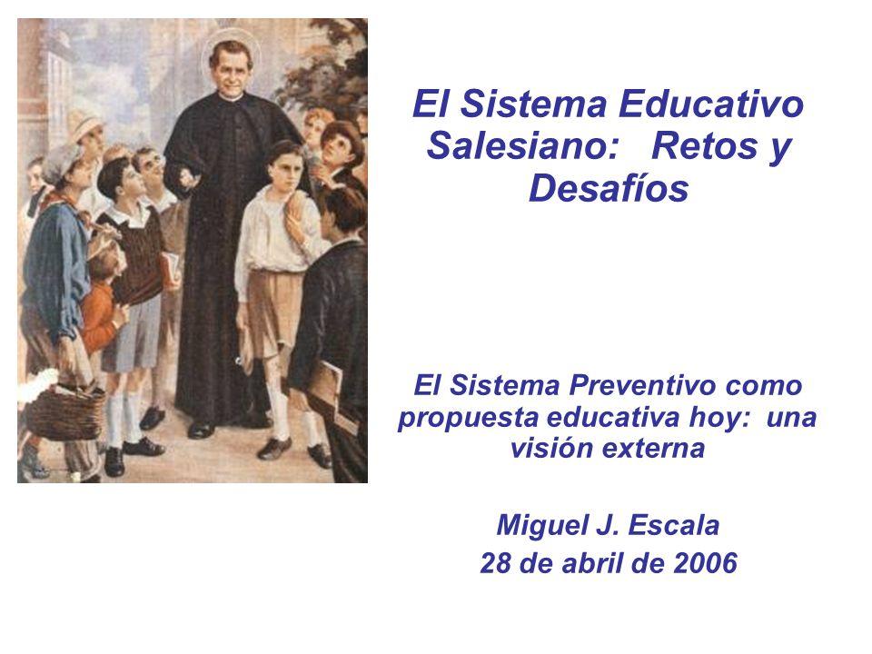 El Sistema Educativo Salesiano: Retos y Desafíos