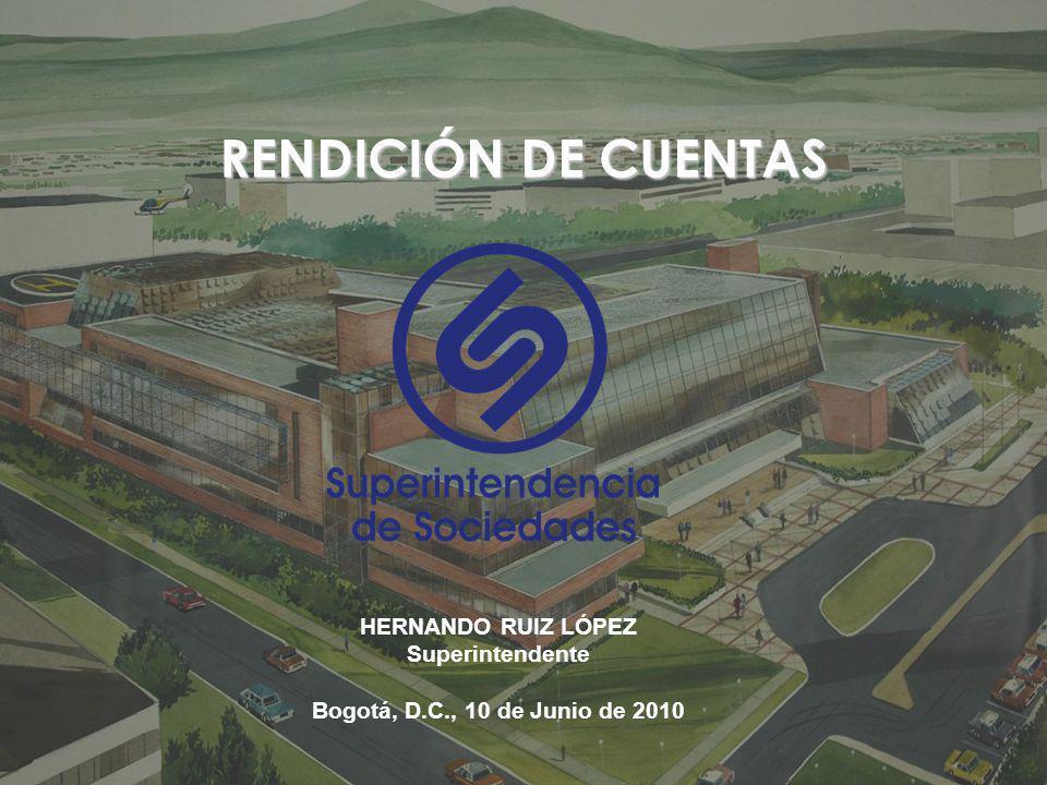 RENDICIÓN DE CUENTAS HERNANDO RUIZ LÓPEZ Superintendente
