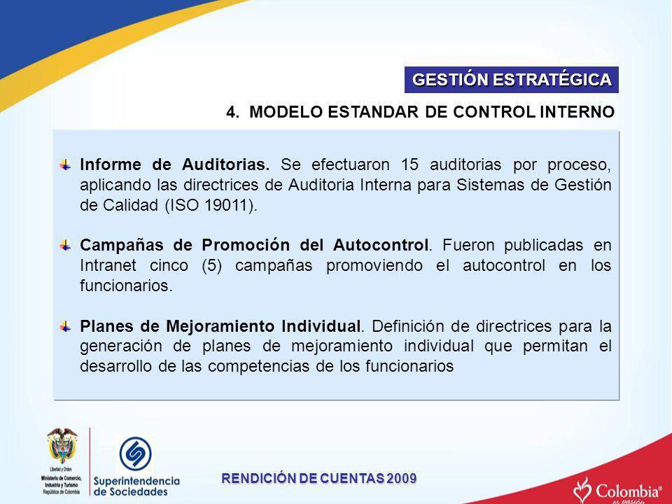 4. MODELO ESTANDAR DE CONTROL INTERNO
