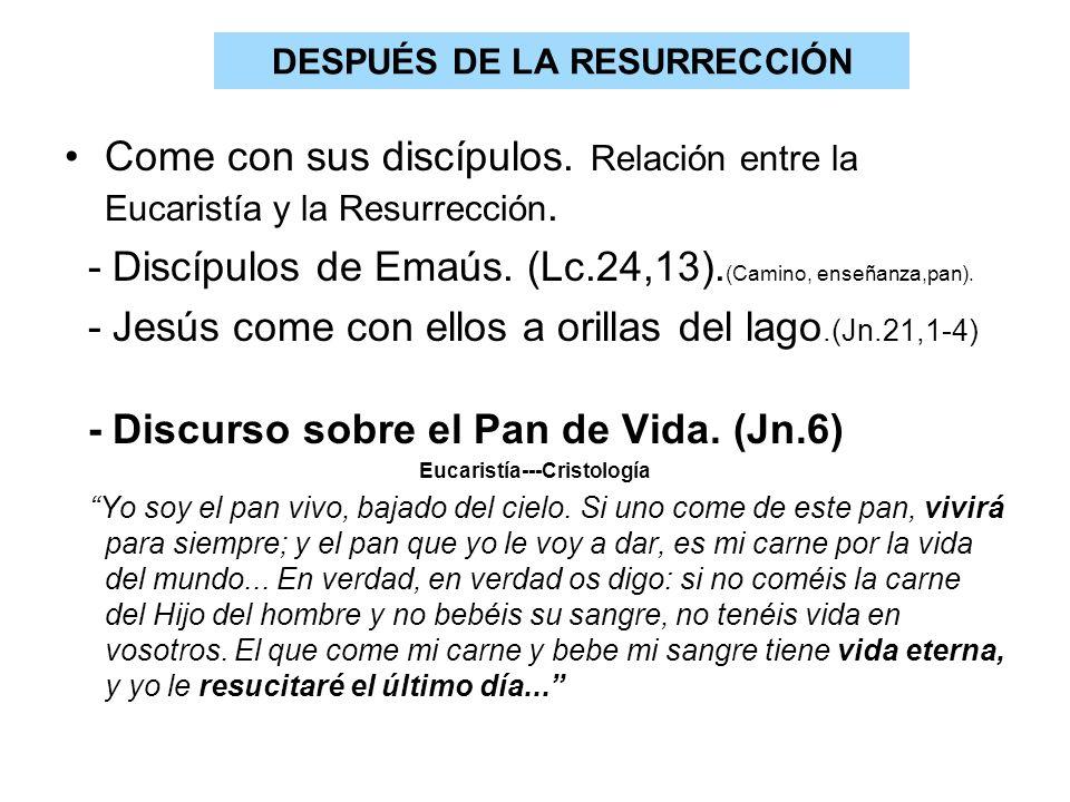 DESPUÉS DE LA RESURRECCIÓN