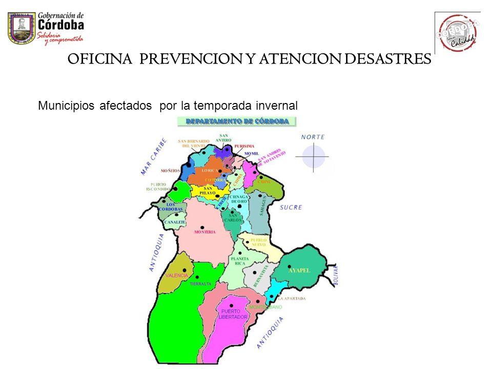 OFICINA PREVENCION Y ATENCION DESASTRES