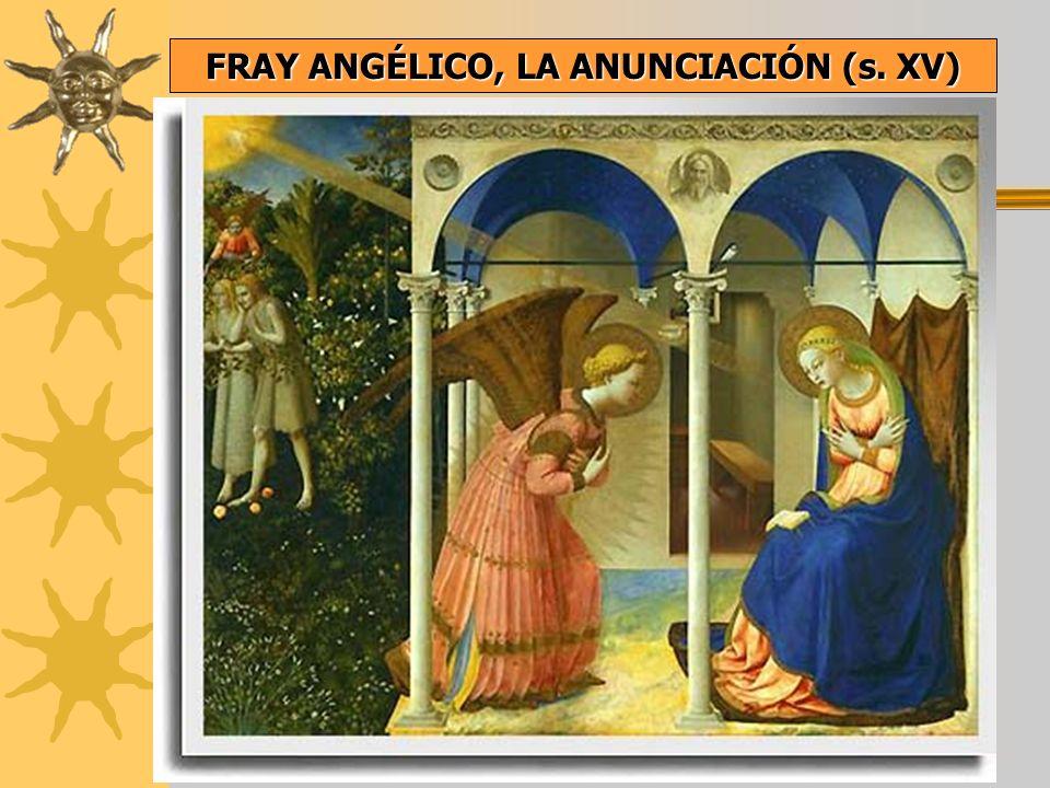 FRAY ANGÉLICO, LA ANUNCIACIÓN (s. XV)