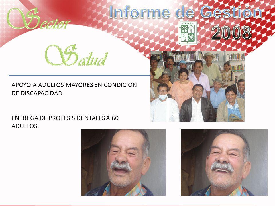 Sector Salud Informe de Gestión 2008