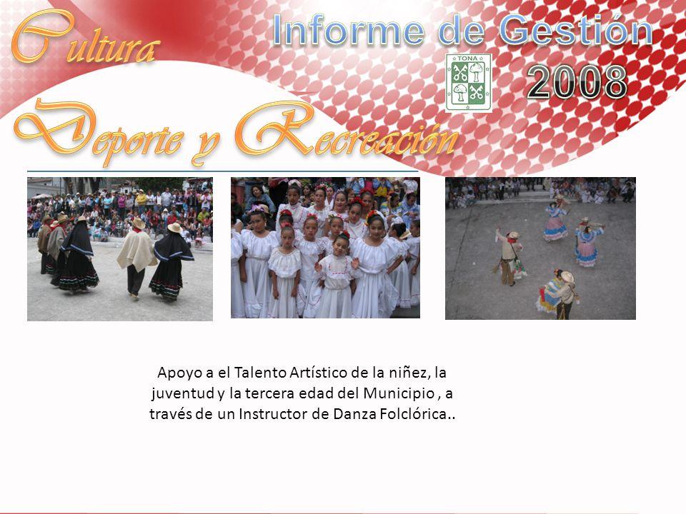 Cultura Deporte y Recreación Informe de Gestión 2008