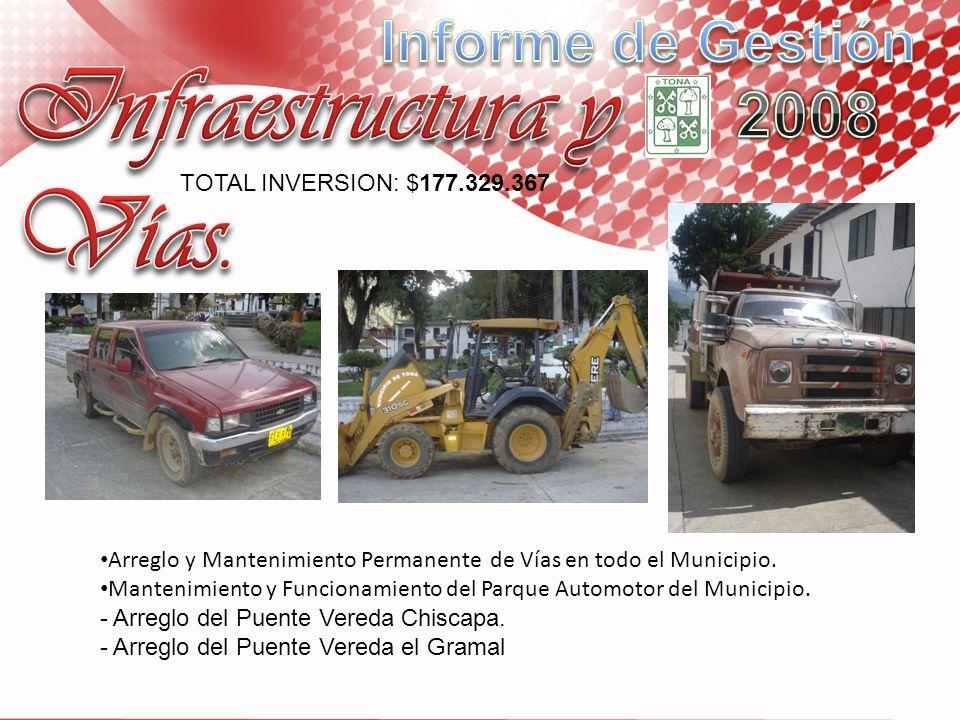 Infraestructura y Vías.