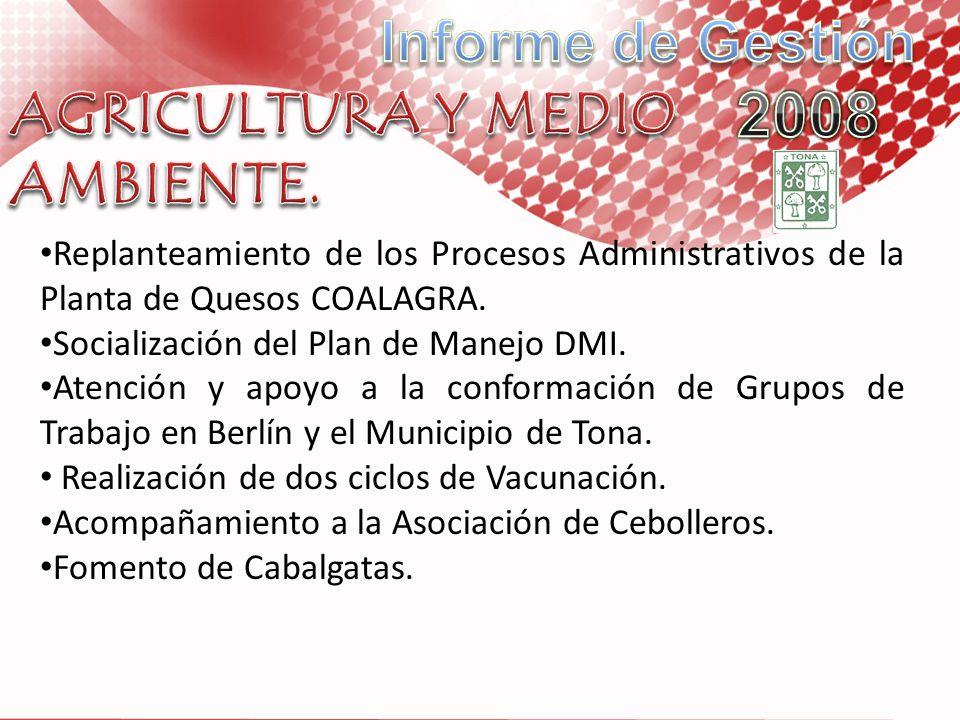 AGRICULTURA Y MEDIO AMBIENTE.