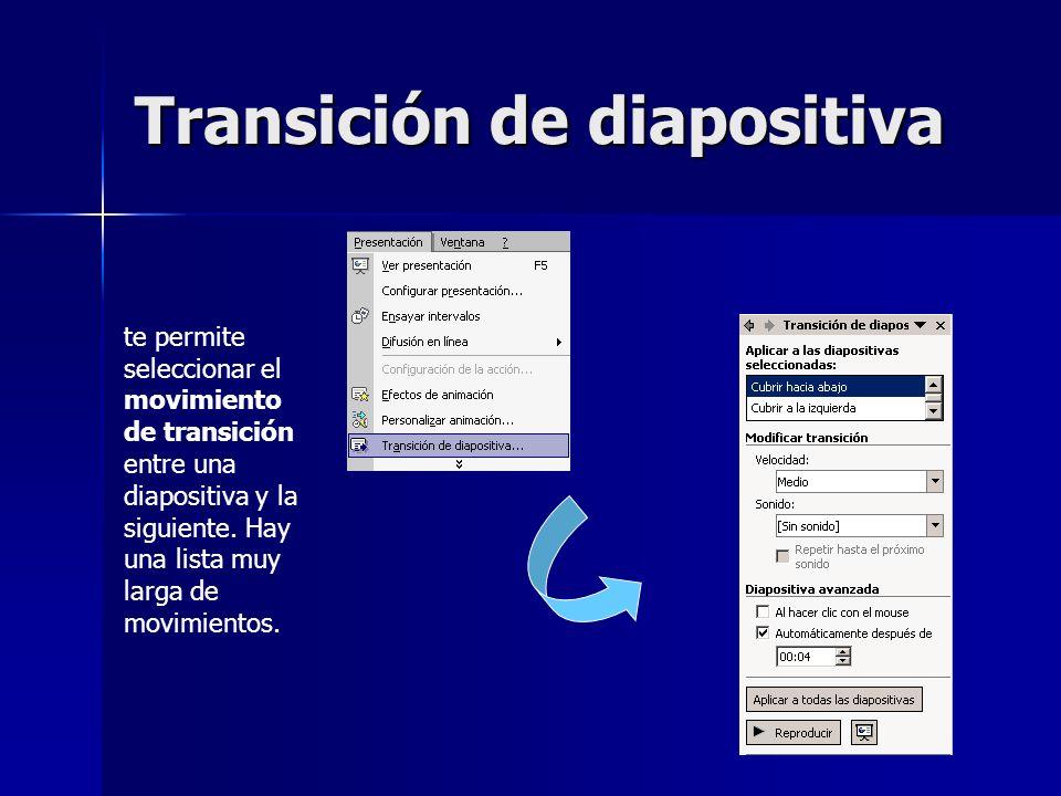 Transición de diapositiva