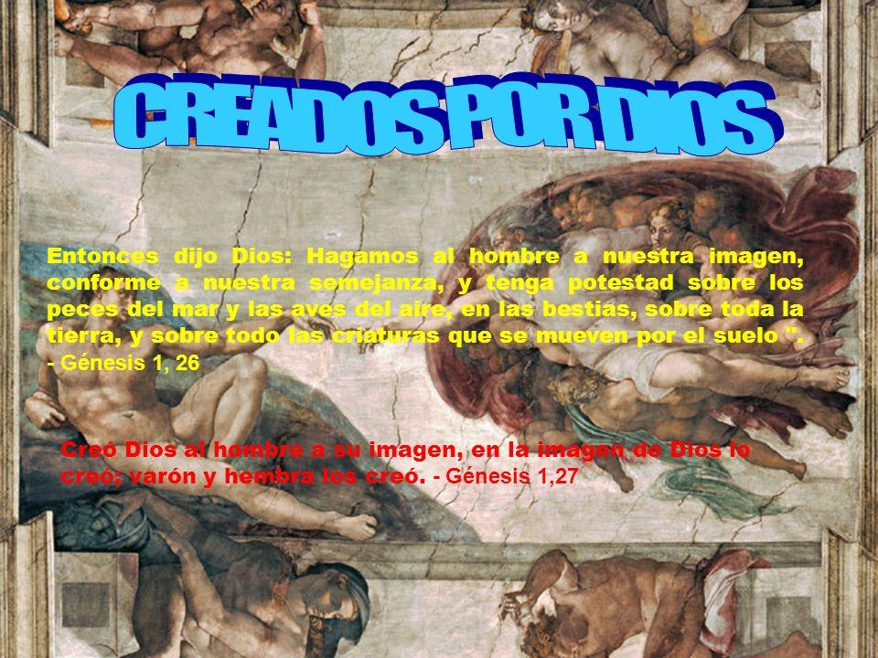 CREADOS POR DIOS