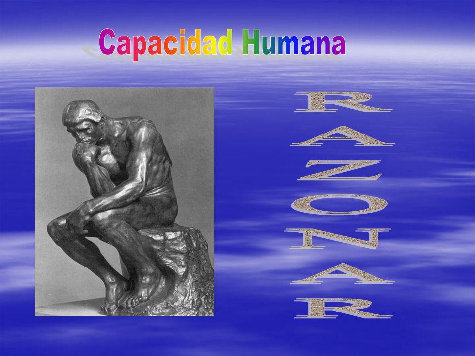 Capacidad Humana RAZONAR