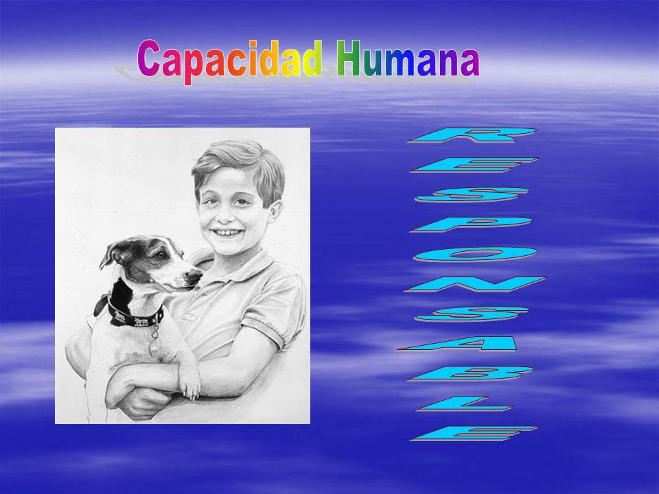 Capacidad Humana RESPONSABLE
