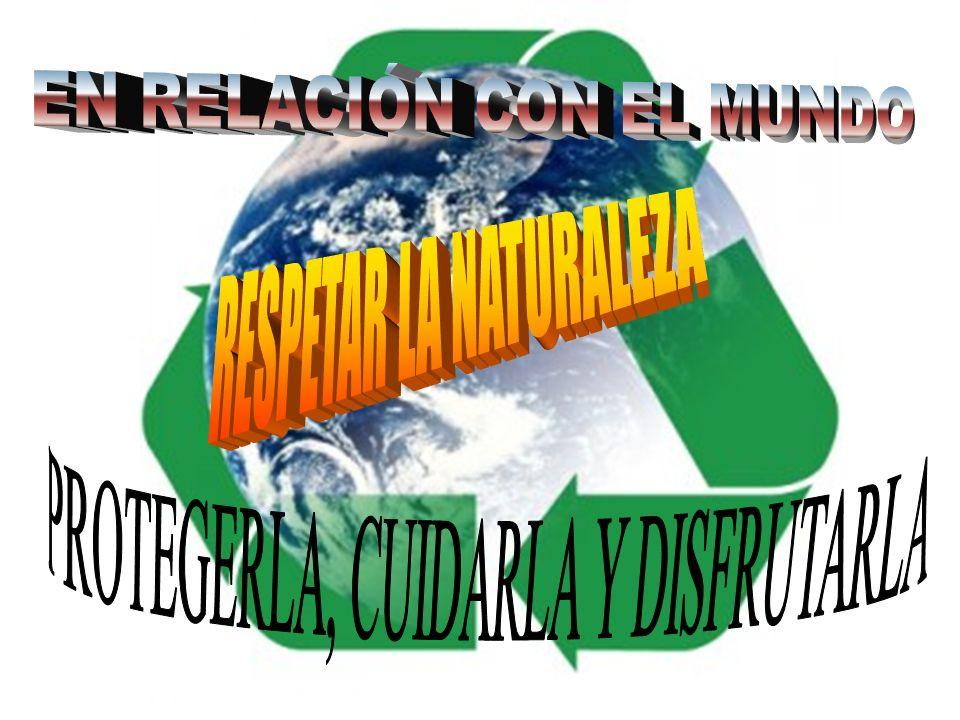 EN RELACIÓN CON EL MUNDO