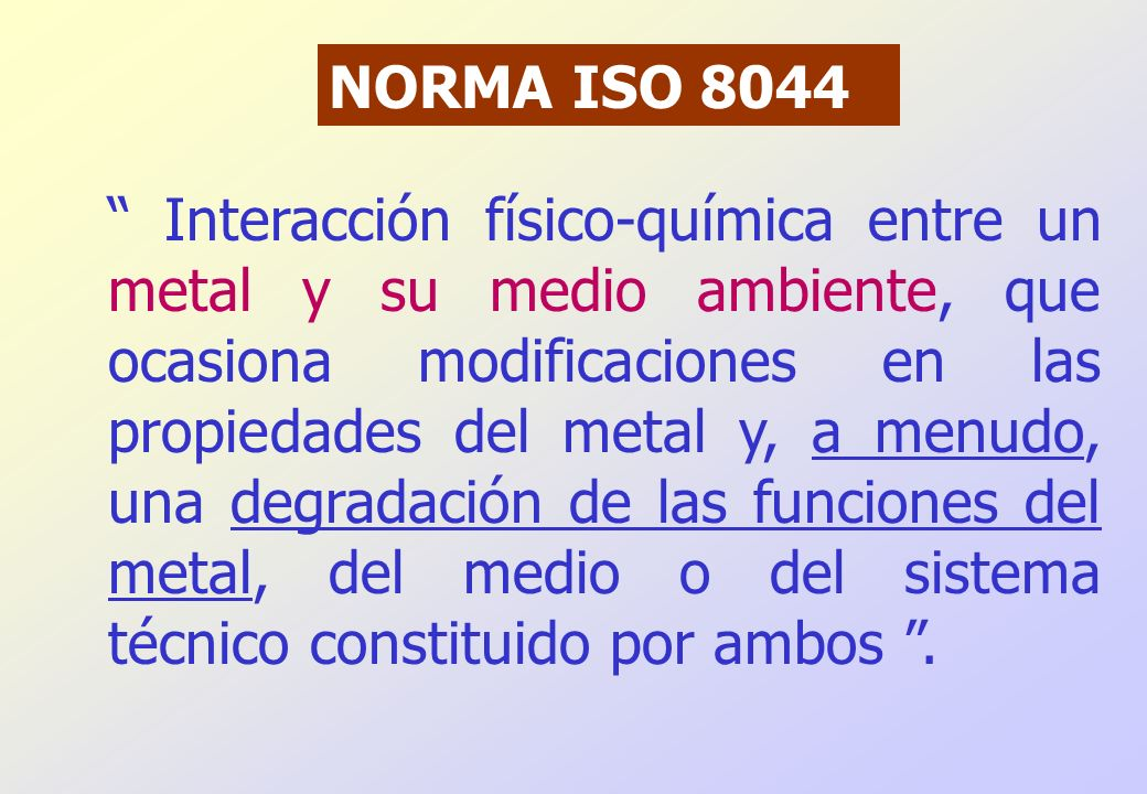 NORMA ISO 8044