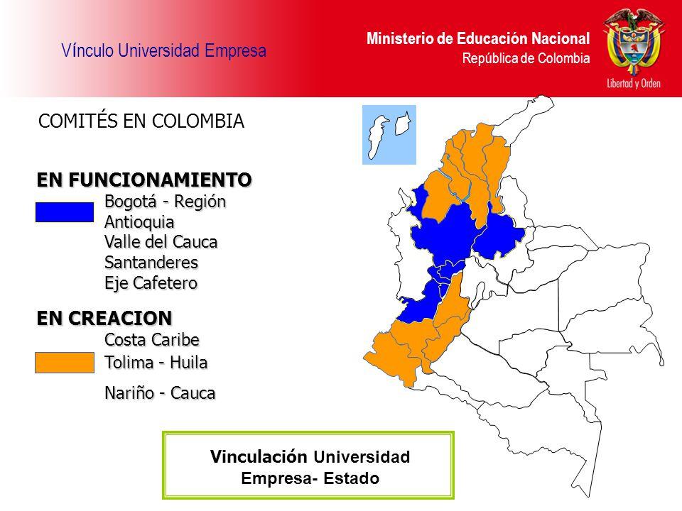 Vinculación Universidad Empresa- Estado