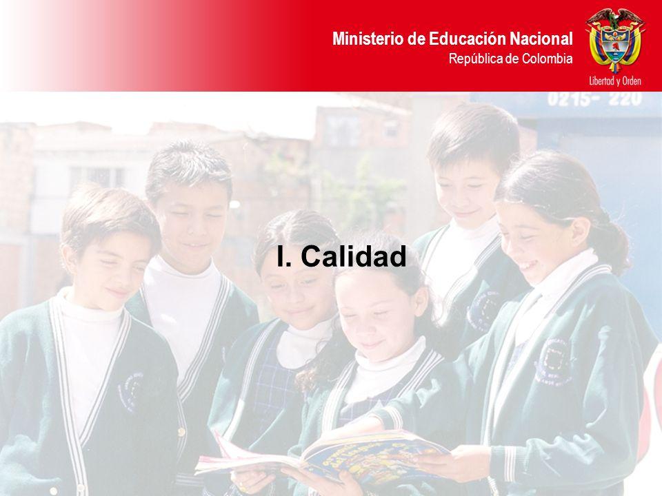I. Calidad