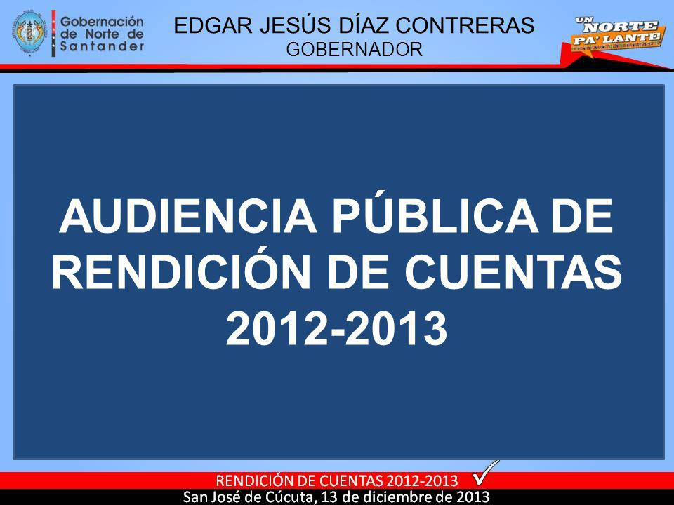AUDIENCIA PÚBLICA DE RENDICIÓN DE CUENTAS