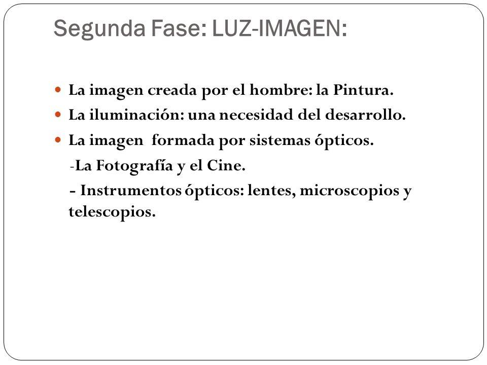 Segunda Fase: LUZ-IMAGEN: