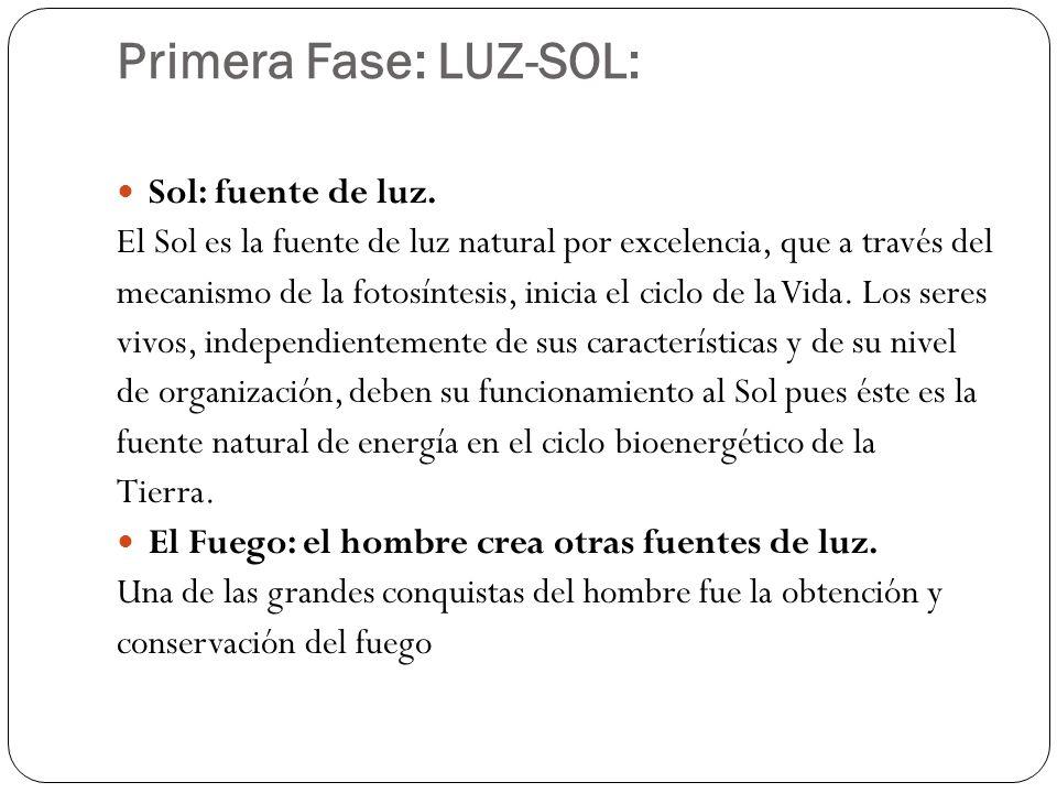 Primera Fase: LUZ-SOL: