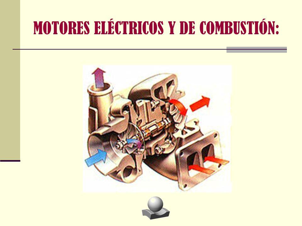 MOTORES ELÉCTRICOS Y DE COMBUSTIÓN: