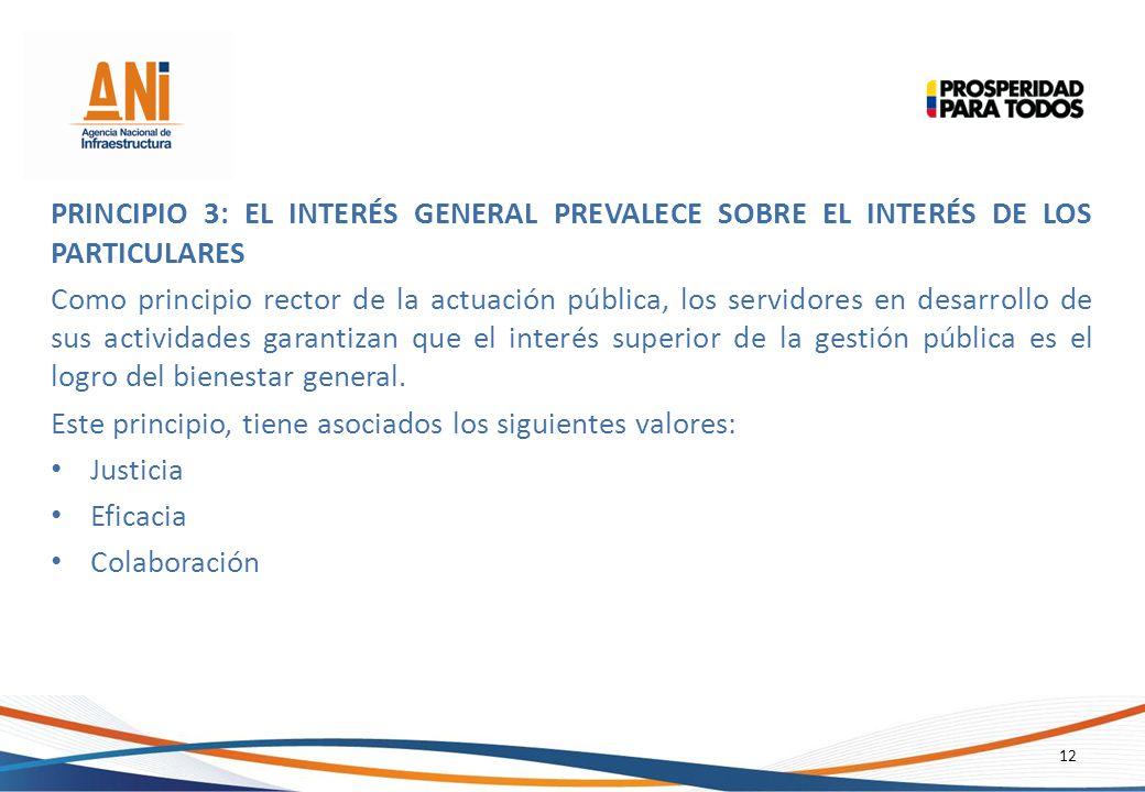 Principio 3: El Interés General Prevalece sobre el Interés de los Particulares
