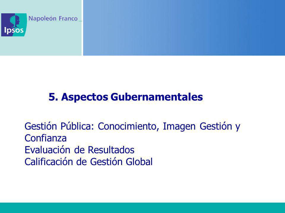 5. Aspectos Gubernamentales