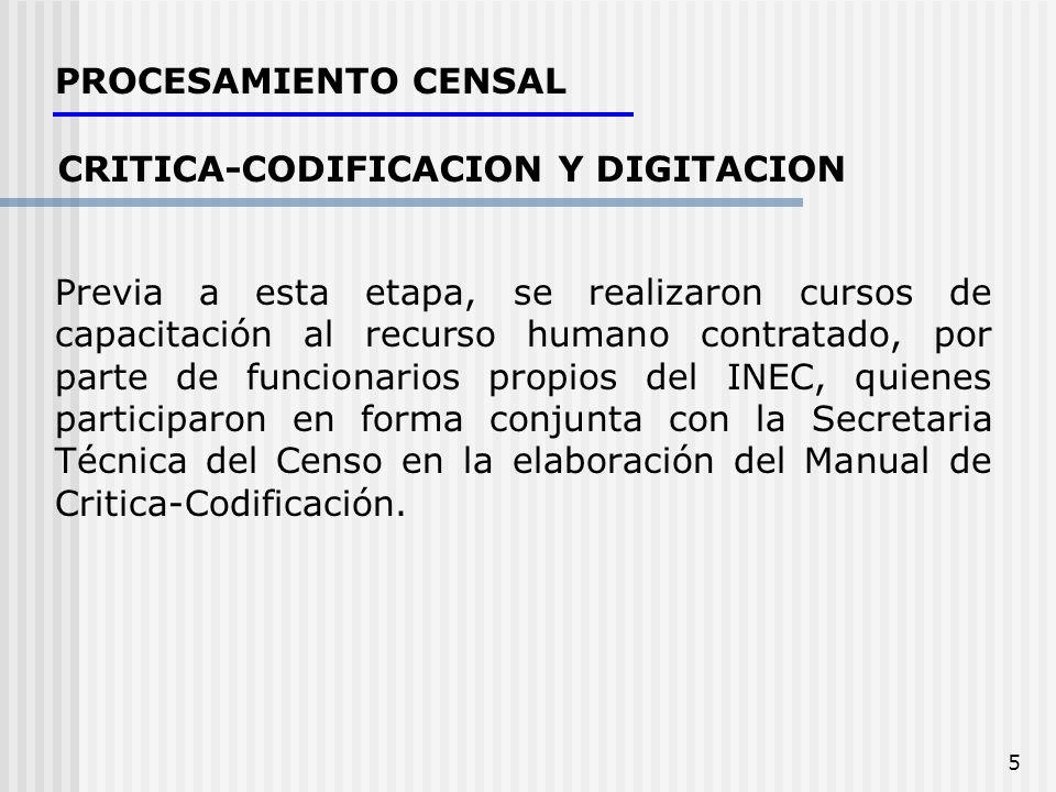 CRITICA-CODIFICACION Y DIGITACION