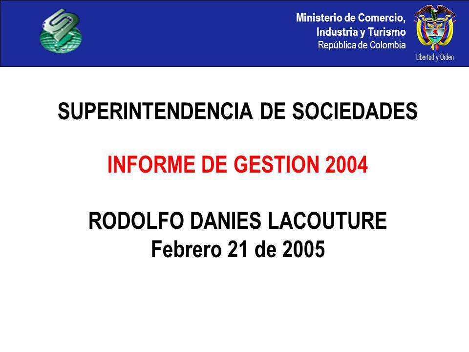 SUPERINTENDENCIA DE SOCIEDADES RODOLFO DANIES LACOUTURE