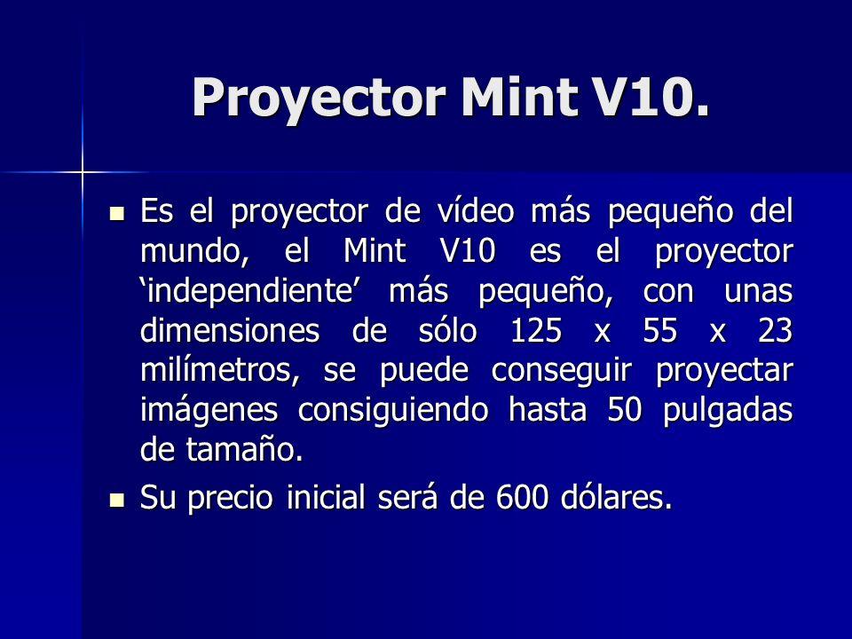 Proyector Mint V10.